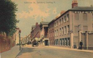 SALISBURY , UK , 1900-10s ; Catherine Street