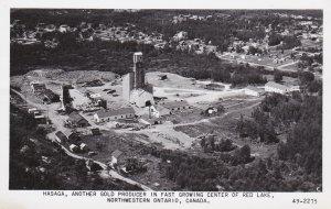 RP: RED LAKE, Ontario, Canada, 1930-40s; Hasaga Gold Mine