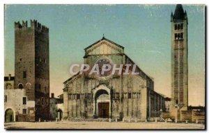 Italia - Italy - Italy - Verona - Zeno Maggiore Basilica S - Old Postcard