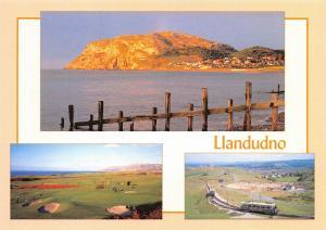 NEW Postcard, Llandudno Multi View, Orme, Tram, Golf, Sea, Beach by Judges 46T