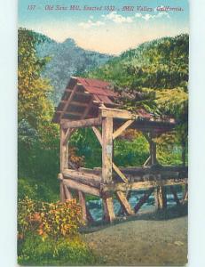 Divided-Back OLD SAWMILL Mill Valley - Near San Francisco California CA H7100