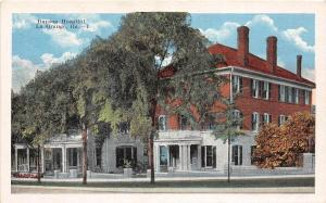 D76/ La Grange Georgia Ga Postcard c1920 Dunson Hospital Building
