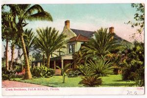 Clark Residence, Palm Beach, Fl