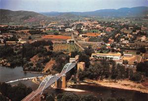 France Vallon Pont d'Arc Ardeche, Le Pont de Salavas et la Ville