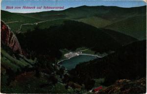 CPA AK Blick vom HOHNECK auf SCHIESSROTRIED (366486)