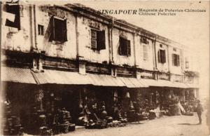 SINGAPORE PC Chinese Poteries (a1462)