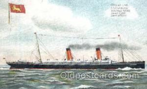 Cunard Line SS. Campania Steamer Ship Postcard Postcards  Cunard Line SS. Cam...