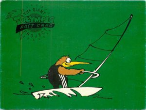 The Giant Olympic Project Windsurfing Penguin Olympics