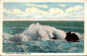 Maine Kennebunkport Ocean Surf Curteich