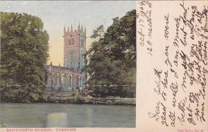 England Cheshire Gawsworth Castle 1904