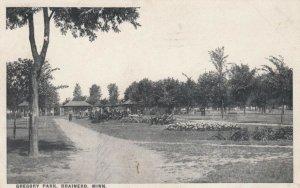 BRAINERD , Wisconsin, PU-1910s ; Gregory Park