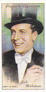 Player Cigarette Card Film Stars 2nd Series No 9 Jack Buchanan