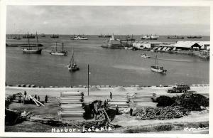 syria, LATAKIA اللَاذِقِيَّة , Harbour Scene (1950s) RPPC