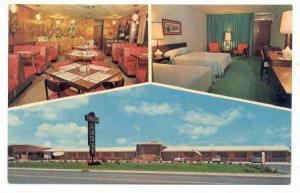 3Views, Fountain Lodge & Restaurant, Chocownity, North Carolina, 1940-1960s