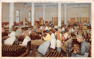 Walkerville Ontario Canada Canadian Club Whisky Bottling Factory PC JI658139