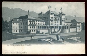 dc503 - MALBAIE Quebec Postcard 1910s Manoir Richelieu by Pruneau & Kirouac