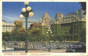 British Columbia, Canada Flower Baskets & Empress Hotel Victoria  Flower Bask...