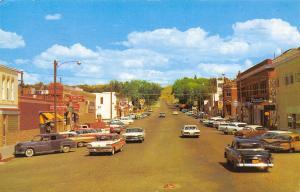 Douglas Wyoming~Businesses~Conoco~Curtin's Liquor~Frontier Drugs~1950s Cars