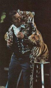 RINGLING BROS. & BARNUM & BAILEY CIRCUS, 1970s; Tiger Teacher