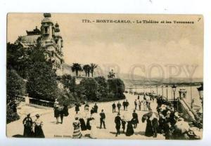 138517 Monaco MONTE-CARLO Theatre & Terrasses Vintage PC