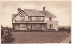 Bryn Awelon, Residence Of Rt. Hon. D. Lloyd George, CRICCIETH, Wales, UK, 191...