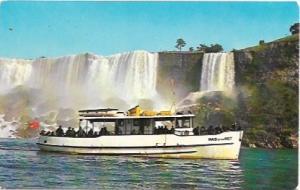 US Niagara Falls, New York, Maid of the Mist.