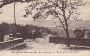 Sur Les Remparts- La Tour Franocise, Boulogne-Sur-Mer (Pas de Calais), France...
