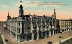 Cuba Habana National Opera House and Gallego´s Club 02.18