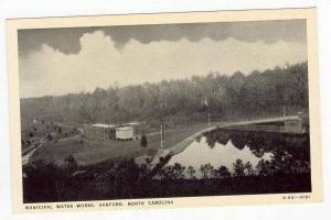 Municipal Water Works, Sanford, North Carolina, 20-40s