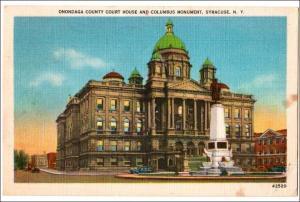 Onondaga Co Court House, Syracuse NY