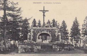 Cross, La Calvaire, Le Cimetiere, Chaumont, France, 1900-1910s