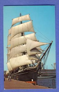 San Diego, Calif/CA Postcard, The Star Of India Sailing Ship