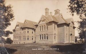 Public School Janesville Minnesota 1912 Real Photo