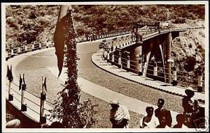 ethiopia, Blue Nile, Abaye Bridge (1930s) RPPC