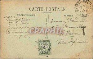 Old Postcard Paris Bois de Boulogne Le Moulin de Longchamps off Tribunes of R...