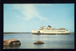 Woods Hole, Massachusetts/Mass/MA Postcard, Steamer Nantucket, Cape Cod