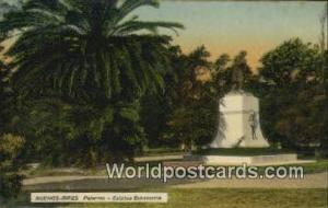 Argentina, República Argentina Palermo, Estatua Echeverria Buenos Aires  Pal...