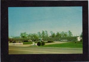 IN Green Acres Motel CENTERVILLE INDIANA POSTCARD PC