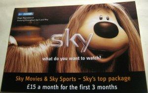 Pubblicità Sky Televisione Film Magico Roundabout Dougal - Non Spedite