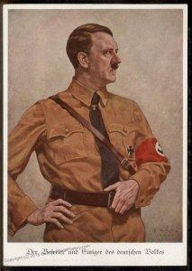 Stocker Verlag #1 Austria Annexation 1938 Anschluss Hitler Propaganda Card 93384