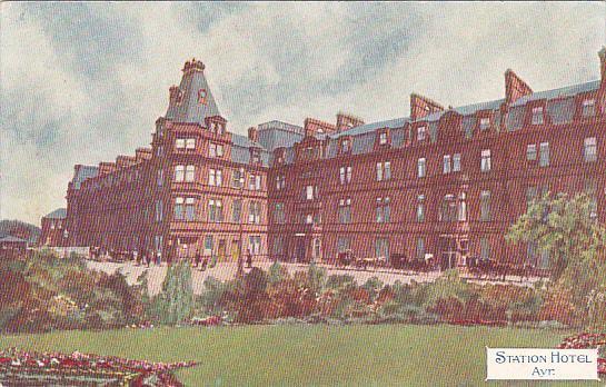 Scotland Ayr Station Hotel