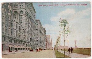 Chicago, Michigan Avenue, North From Auditorium Annex