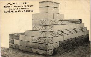 CPA L'Allur -Machine a Pierres Creuses - Brevets H.S.Palmer - Eluere.. (222535)