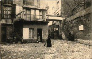 CPA Vieux PARIS 4e Tour Philippe Auguste. Cour du Jardinet (463825)