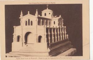 B81142 eglise saint louis de beyrouth desservie liban   lebanon front/back image