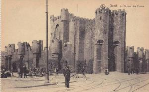 Le Chateau Des Comtes, Gand (East Flanders), Belgium, 1900-1910s