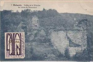 Belgium Malmedy Valle de la Warche les ruines de Renarstene 1928