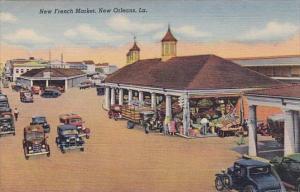 New french Market New Orleans Louisiana 1950