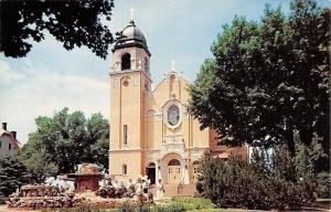 West Bend Iowa~St Peter & Paul's Catholic Church~1959 Postcard