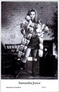 Beautiful Actress SAMANTHA JONES A54/2 Swiftsure 2000 Postcard GREAT QUALITY